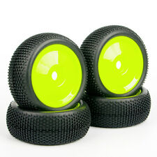 Set Off-Road Tires Set Tyre Wheel Rim 22054+26018 For HPI HSP RC 1:8 Buggy Car