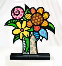 "ROMERO BRITTO TABLE DECO "" VAN BRITTO"" FIGURINE ** RARE ** NEW **"