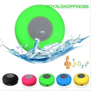 Cassa altoparlante Speaker Bluetooth impermeabile doccia con ventosa vivavoce OF