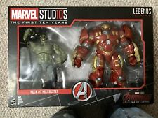 Hasbro Marvel Legends Studios First 10 Years 2 Pack Hulk Vs. Hulkbuster