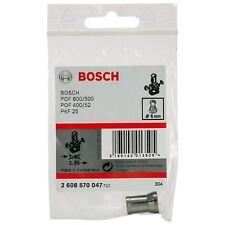Bosch 6 mm Collet Chuck GGS 27 Meuleuse POF 52 400 500 600 Routeur 2608570047