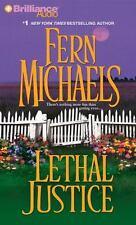 Sisterhood: Lethal Justice 6 by Fern Michaels (2012, CD, Abridged)