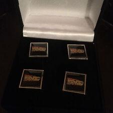 BACK TO THE FUTURE Cufflinks  2 sets  IN ORIGINAL BOX