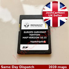 NEWEST! RENAULT TomTom CARMINAT SD CARD EUROPE and UK MAP V10.15 2019 - 2020