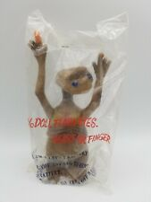 Vintage E.T. The Extra Terrestrial Flash Eyes Heart or Finger Rare Doll Taiwan