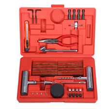 56Pc Car Tire Repair Kit Emergency Tubeless Tyre Puncture Repair Tools Tire Plug