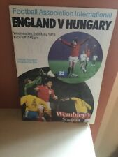 ENGLAND V HUNGARY ~ 24 MAY 1978 (2)