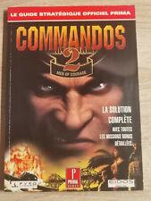 COMMANDOS 2 GUIDE STRATEGIES SECRETS PC CD ROM XBOX PS2