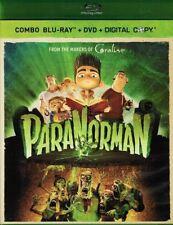 ParaNorman - (2012) Animated Family Comedy Blu-ray+DVD+Digital Copy NEW