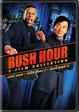RUSH HOUR 3-FILM COLLECTION New DVD 1 2 3 Chris Tucker Jackie Chan