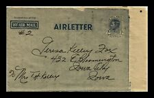 DR JIM STAMPS AIRMAIL AIRLETTER AUSTRALIA POSTAL STATIONERY COVER