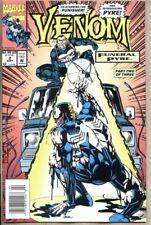 Venom Funeral Pyre #2-1993 vf 8.0 Marvel  Newsstand Variant Cover Punisher