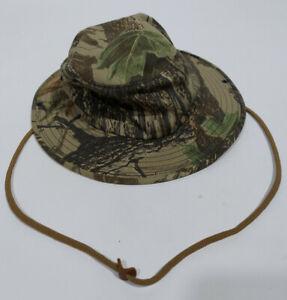 Realtree Mens Camo Bucket Hat Cap