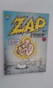 ZAP COMIX NO 0 ROBERT CRUMB 1988 COMICS MAGAZINE
