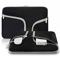 """For Various 11.6"""" 13"""" 13.3"""" PC Sleeve Case Notebook Carry Bag Tablet Pouch Black"""