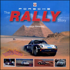 PORSCHE RALLY STORY BOOK MEREDITH 911 356 RACING 959 DAKAR CARRERA