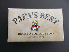 Papa's Best Antifungal Tea Tree Oil Soap For Athlete Foot Jock Itch Acne 2 Bars