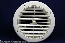 """7"""" Round RV Ceiling A/C Vent ~~ 2"""" extension"""