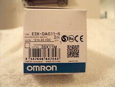Omron Sensor E3X-DAG11-S (E3XDAG11S) NIB!