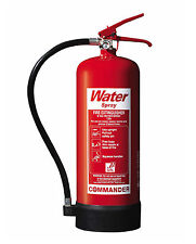 NEW 6 LITRE WATER FIRE EXTINGUISHER - 6L/6LTR - FREE SHIPPING, UK STOCK
