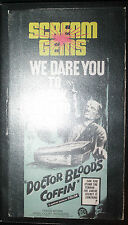 Doctor Blood's Coffin VHS 1990 Horror Movie from 1961 Color Hazel Court Scream