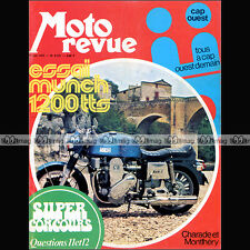 MOTO REVUE N°2127 MUNCH 1200 TTS MAMMOUTH ROKON CHARADE SCOTTISH SIX DAYS 1973