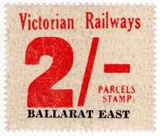 (I.B) Australia - Victoria Railways : Parcel Stamp 2/- (Ballarat East)
