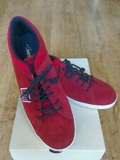 BNWT Italian Meyba Mens Red Suede Shoes size 10.5 RRP 93.00