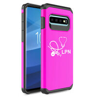 For Samsung Galaxy Shockproof Protective Case Cover Licensed Practical Nurse LPN