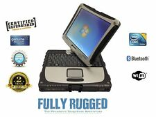 Rugged  Panasonic Toughbook Cf 19 Tablet Laptop Win 7 Pro 32 Bit 4Gb 320Gb