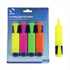 Assorted Highlighter Pens 4 Pack - Low Price Fast Delivery