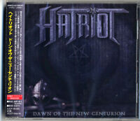 HATRIOT-DAWN OF THE NEW CENTURION-JAPAN CD BONUS TRACK F75