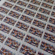 FEUILLE SHEET TIMBRE CENTENAIRE 1er MAI N°2644 x50 1990 NEUF ** LUXE MNH