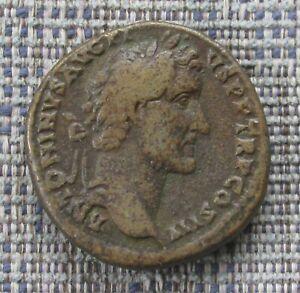ANTONINUS PIUS Roman brass sestertius