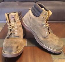 Men's Brahma Steel Toe Ankle Work Boots - Tan - Size 13