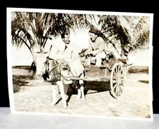 1935 Paul Runyan & Sam Parks Jr.  Original Wire Photo on Donkey Delivering Clubs