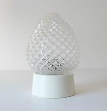 applique plafonnier en verre design 1970 vintage années 50 60 bauhaus 1950