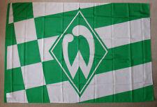 Werder Bremen Schwenkfahne Zimmerfahne 100 cm x 150 cm neues Logo Raute
