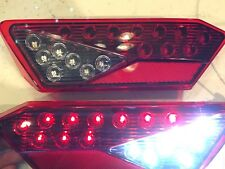 LED Tail Lights  With REVERSE LIGHTS 15-18 POLARIS RZR 900 & S backup Red