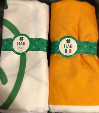 New listing St Patricks Day Irish 3x5 Ft Banner Flag Decor St Patty's - Lot Of 2