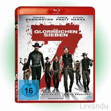 Blu-ray DIE GLORREICHEN SIEBEN Denzel Washington / Chris Pratt / Ethan Hawke