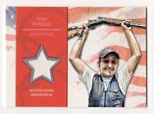 2012 Topps USA Olympic Team Authentic Relic Kim Rhode Triple Shooting Champion