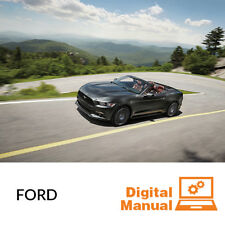 Ford Car - Service and Repair Manual 30 Day Online Access
