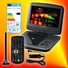 Reflexion DVD9017 tragbarer DVB-T2 HD Fernseher mit DVD-Player 12V/230V TV EEK A
