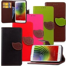 Luxury Fashion Leather Card Flip Wallet Case Stand Cover Pouch For Lenovo Mobles