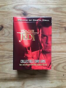 Star Wars Young Jedi CCG Menace of Darth Maul Starter Deck Unsealed
