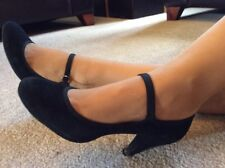 Faith Black Mary Jane Stiletto Size 6 Euro 39