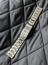 Gents Vintage New Old Stock Stainless Steel Bracelet Clip Watch Strap - 18mm