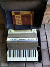 RARE ORIGINAL STUNNING VINTAGE PEARL HOHNER - PIANO ACCORDION