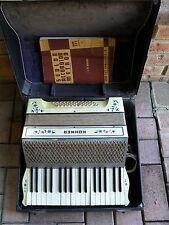 RARE ORIGINAL STUNNING VINTAGE PEARL HOHNER  -  PIANO ACCORDION